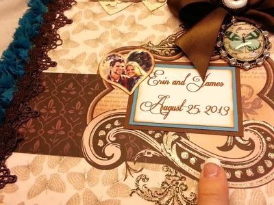 Wedding Mini Album Custom for my Friend