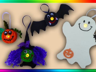 4 Tealight Halloween Crafts