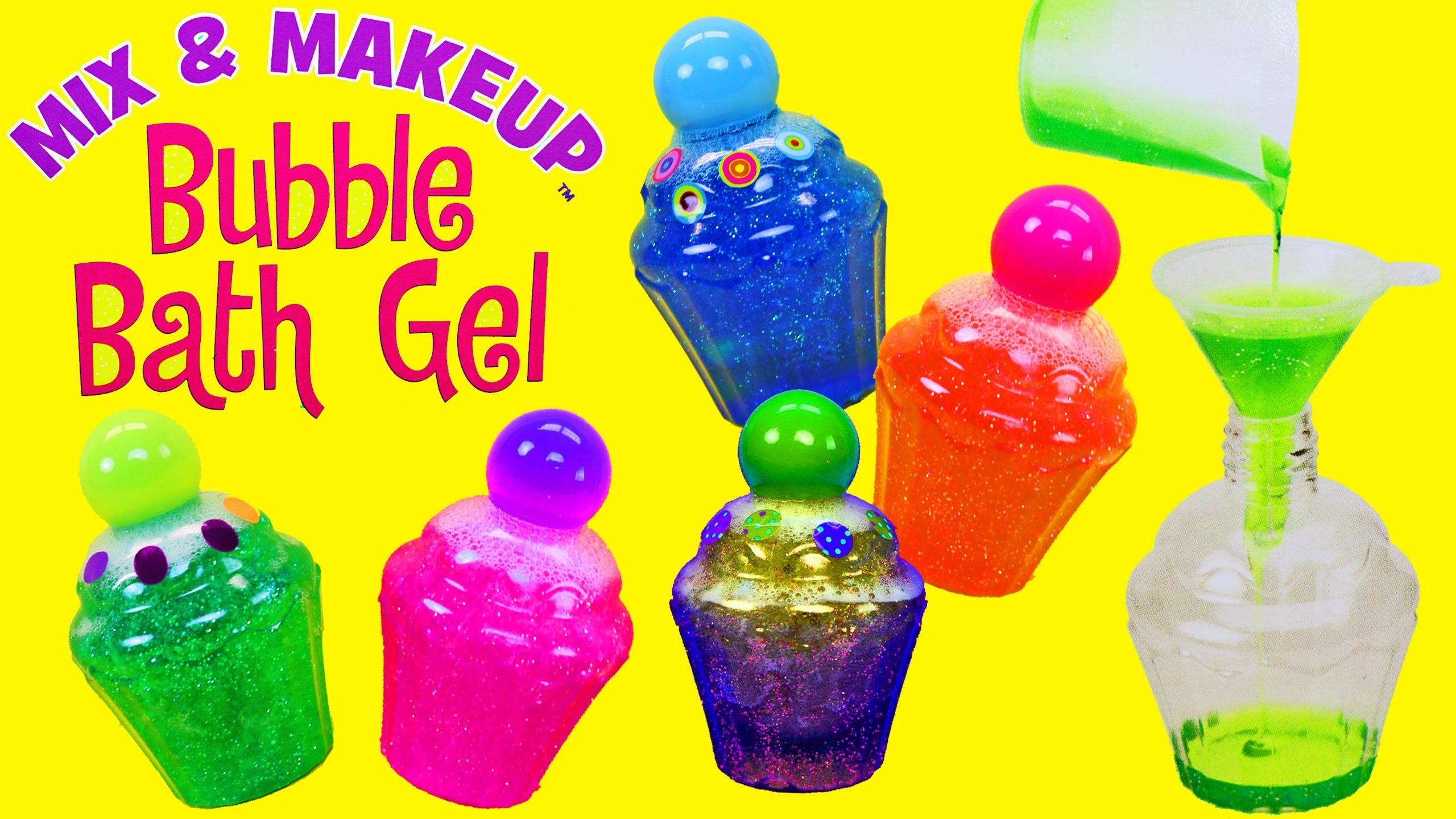 Bubble Bath Gel Maker! DIY Cupcake Shower Gel for the Tub Alex Toy Review + Ariel by DisneyCarToys
