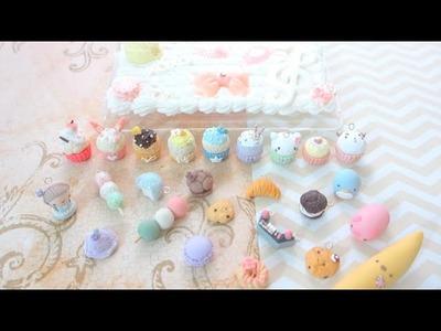 Charm Update: Madoka Cupcakes, Commissions, etc.