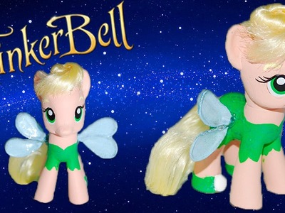 Custom Tinkerbell My Little Pony - My First MLP Cutsom Tutorial Video