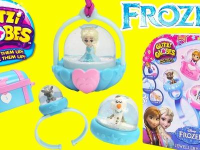 Disney Frozen Glitzi Globes with Elsa, Olaf, Kristoff, and Sven