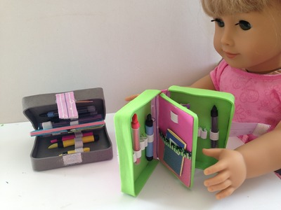 DIY AG American Girl Doll Pencil Case