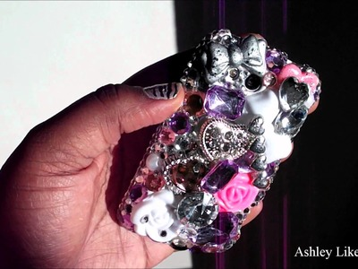 DIY: Decoden Swarovski Crystal HTC Wildfire S Case