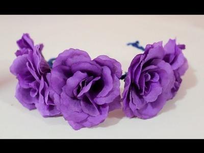 DIY: Flower Crown for Your Bun