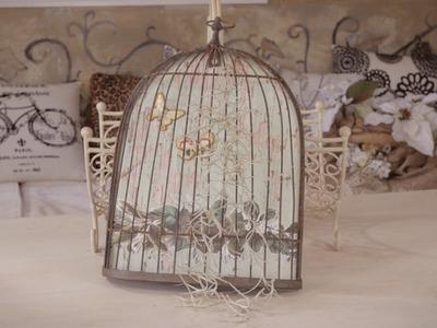 Ear-plant Birdcage Arts & Crafts Tutorial