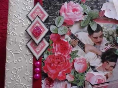 Graphic 45  Mon Amour mini album