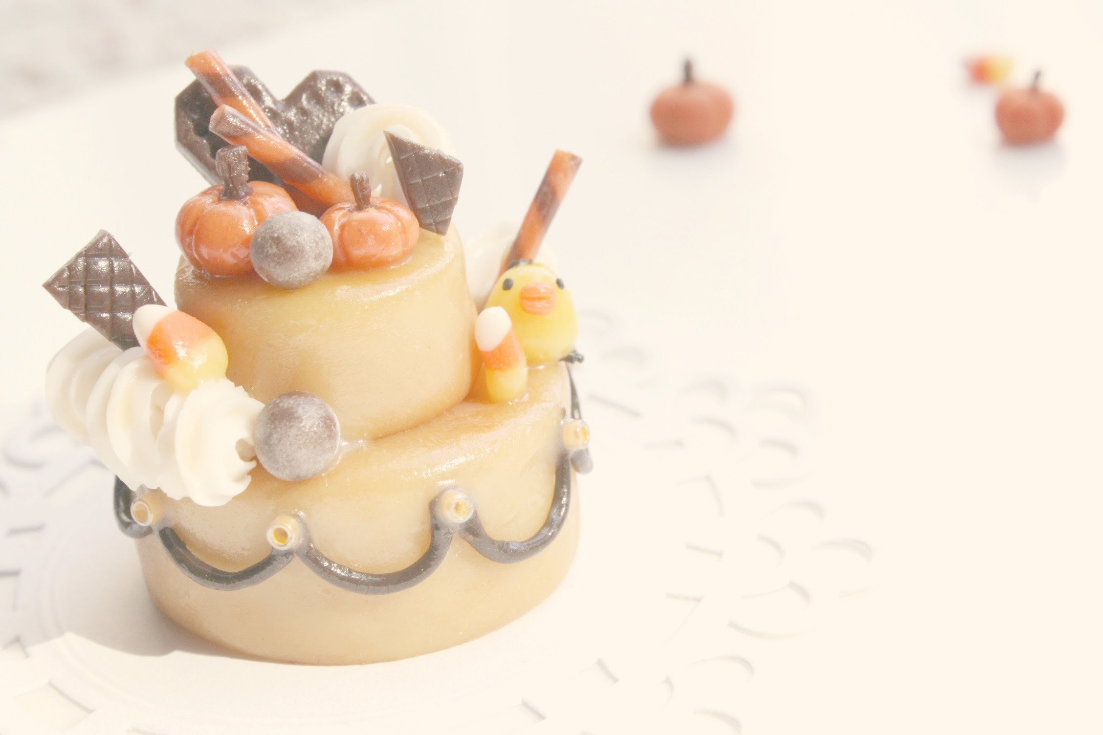 ✯ Halloween Cake Decoration ✯