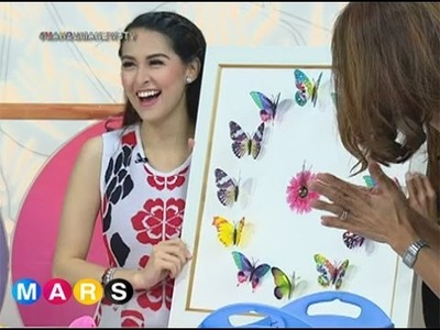 Handy Mars: Marian Rivera teaches you how to make butterfly decor
