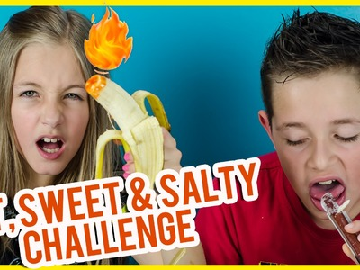 HOT, SWEET AND SALTY CHALLENGE! EXTREME FOOD TASTE TEST GROSS FOOD CHALLENGE! IDEA BY PLP TV