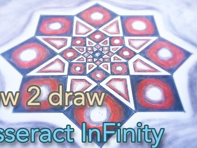 HOW 2 Draw Tesseract - Octagram Into Infinity