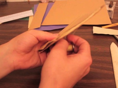 How to bind a pamphlet style book.zine