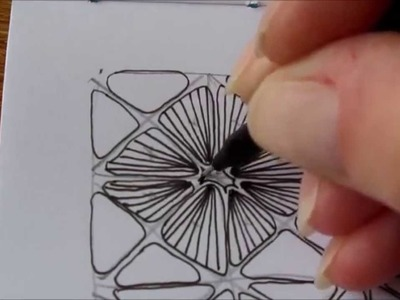 How to draw tanglepattern Nymph
