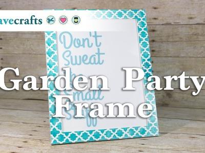 How To Make a Garden Party Frame