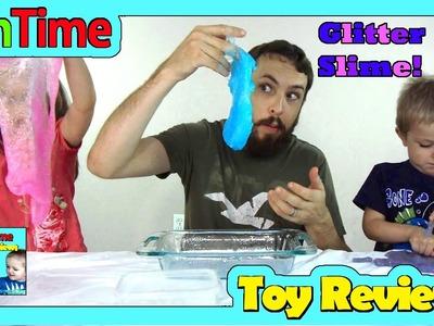 How To Make Glitter Slime Home Recipe Borax and Glue