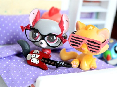 LPS DIY - EASY LPS glasses and sunglasses 2