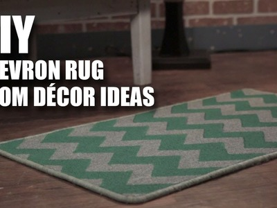 Mad Stuff With Rob | DIY Chevron Rug | Room Decor Ideas