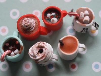 Mini Holiday Drinks DIY (Latte, Apple Cider, Eggnog, Hot Chocolate) (Part 2.2)