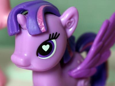 My Little Pony POP - Create your pony - DIY - Applejack & Pinkie Pie & Rarity & Twilight Sparkle -