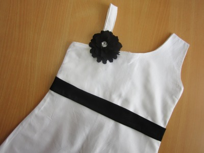 One Strap - One Shoulder Frock - (Aline Dress)