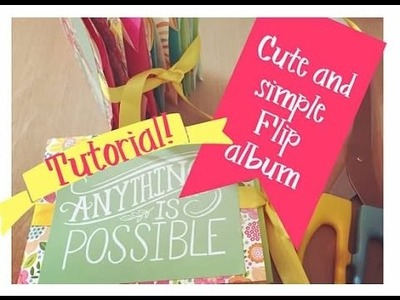 Paper Bag Flip Album | Tutorial with Dollar Tree Bags!