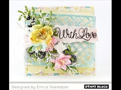 Penny Black Layered Card Tutorial