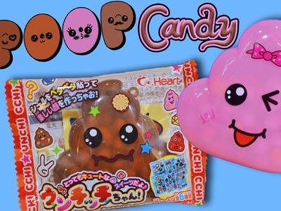 POOP Candy! Decorate Your Own Kawaii Poop! My Kawaii Family