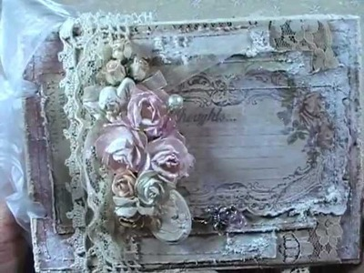 Shabby Chic Card and Altered bird cage