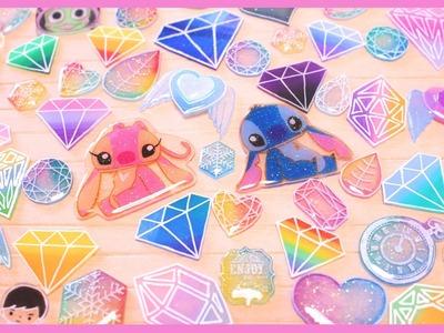 Shrink Plastic Update: Stitch & Angel and GEMS! ♡