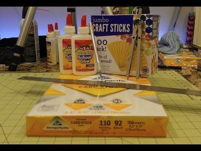 Supply List for Paper Swords