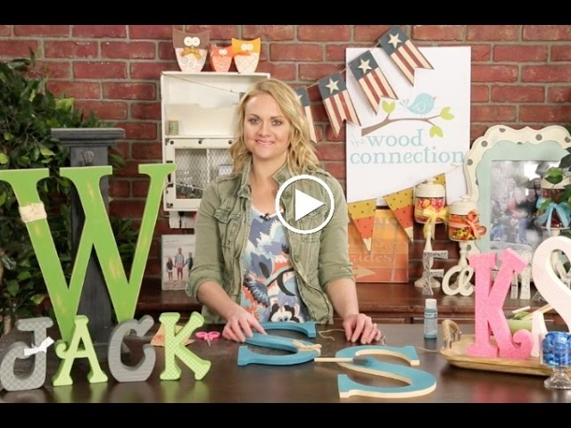 The Wood Connection: A to Z Fun Ways to Use Alphabet Letters