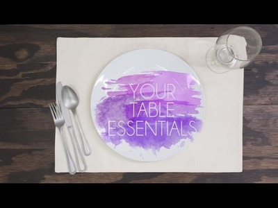 Three Ways to Dress Up Your Table