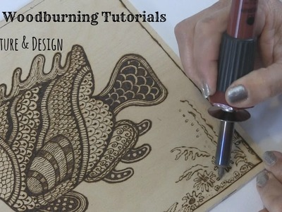 Wood burning - Texture and Design Tutorial