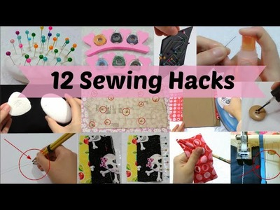 12 Useful Sewing & DIY Craft Hacks You Should Know ^^