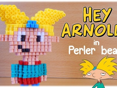 3D Perler Beads Tutorial HEY ARNOLD! (Nickelodeon)