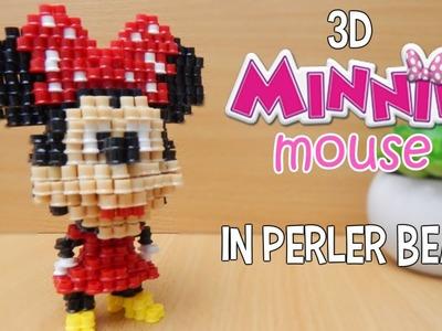 3D Perler Beads Tutorial Minnie Mouse! (Disney)