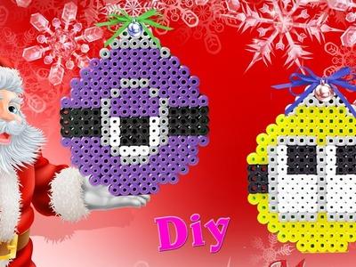 Addobbi Natalizi con Hama Beads. Christmas ornament Perler Beads