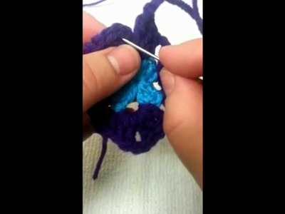 An alternate way to FINISH OFF your GRANNY SQUARE