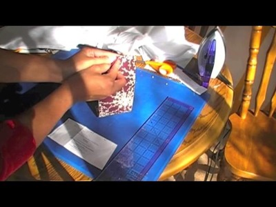 Beginner How To Sew An Amy Butler Clutch Pattern Part 1 Cutting The Pattern, Fabric, and Interfacing