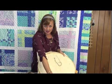 Big Stitch Quilting - How to Hand Quilt Using Big Stitch Quilting