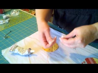 Bottlecap Pin Cushion Ring tutorial