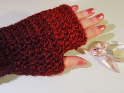 Brza i laka izrada rukavice (Fingerless Gloves, Fast & Easy)