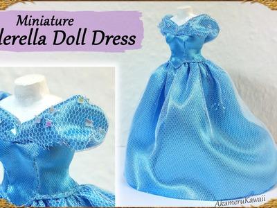 Cinderella Inspired Doll Dress - Fabric Tutorial