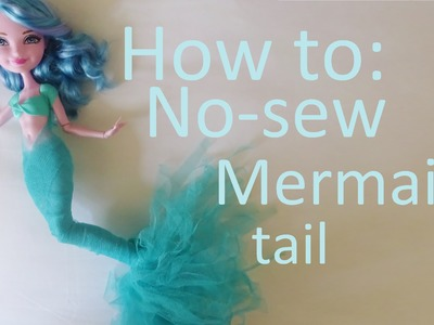 Clothes Tutorial: New-sew mermaid tail for your Ever After High dolls by EahBoy