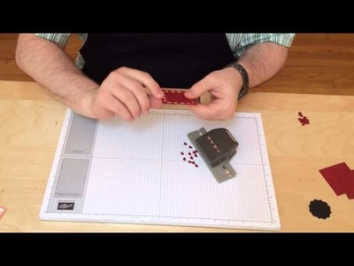 Creating a Frame with Hearts Border Punch