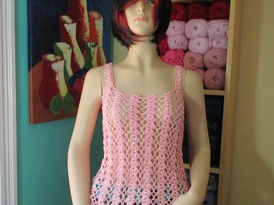 Crochet blusa de verano Yaritza con Ruby Stedman