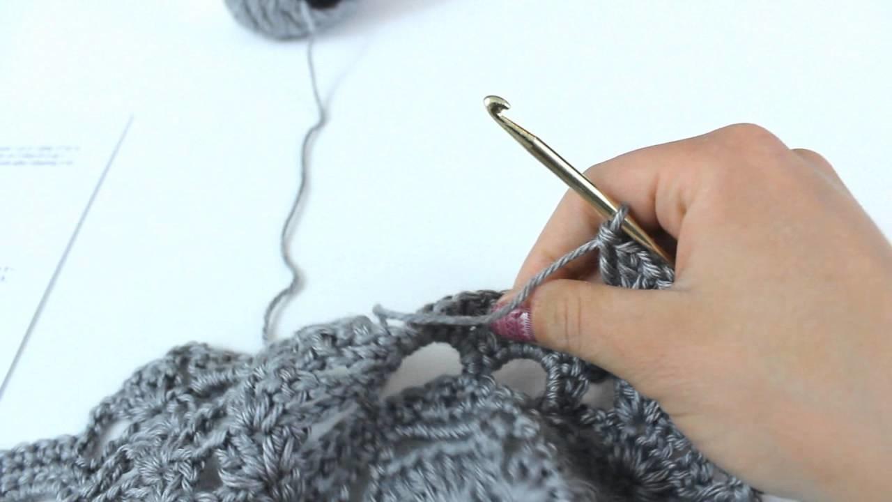 Crochet Lost Souls Shawl PART 2