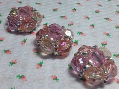 DIY~ Easy To Make Beautiful Shabby Chic Buttons!