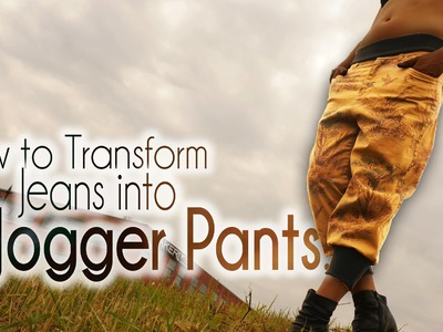 DIY Fashion | How to Transform Jeans into Jogger Pants