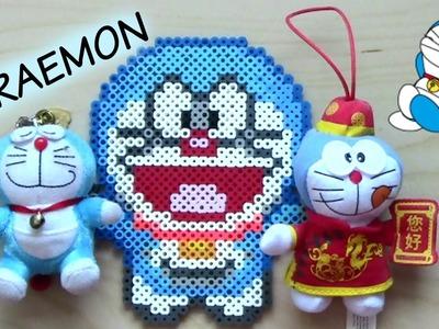 Doraemon Perler Bead Sprite